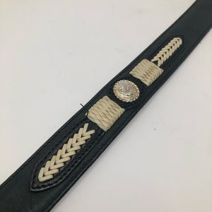 Justin Boots Accessories - Justin Belts Cowhide Leather Belt Size 28
